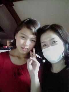 ソフィアとマスク女