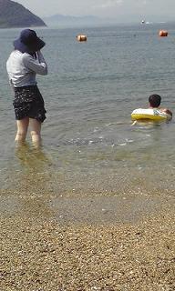 2009年夏1回目の本島